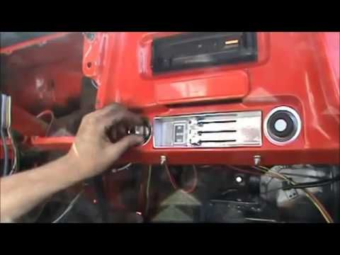 How To Install A Wiring Harness 6772 Chevy C10 Truck Part 3 - Gmc Truck Wiring Harness