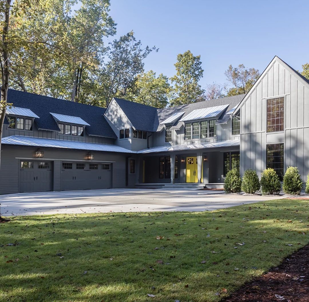 35+ Modern farmhouse in the woods model
