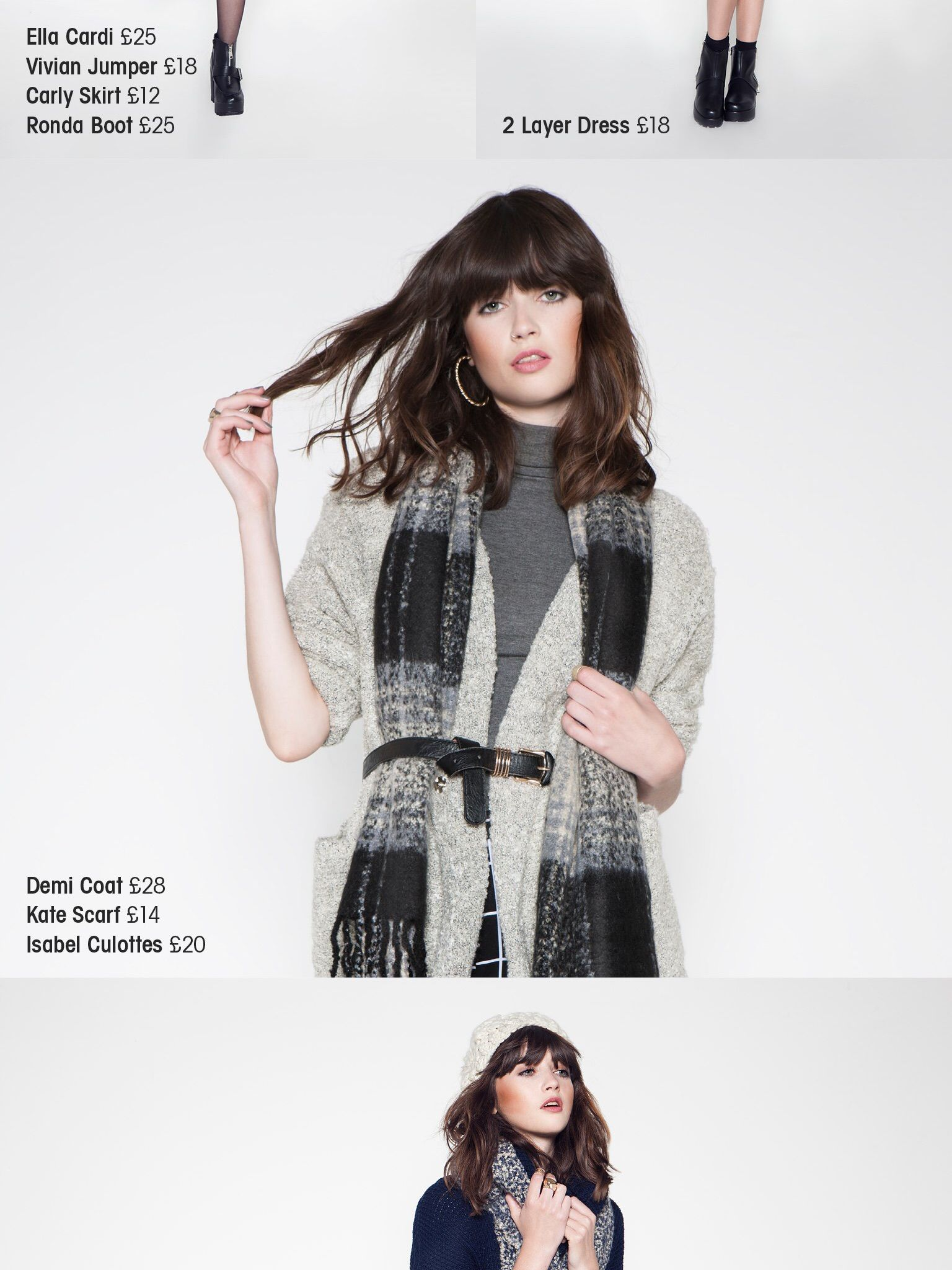 Knitwear from Stylefix Issue 33, http://itunes.apple.com/app/id687702960