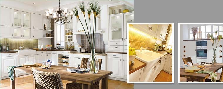 The Stockholm kitchen from Beckermann - country style kitchen