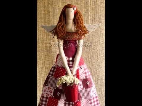Boneca Tilda Isabelle - Maria Adna Ateliê - Cursos e aulas de ...