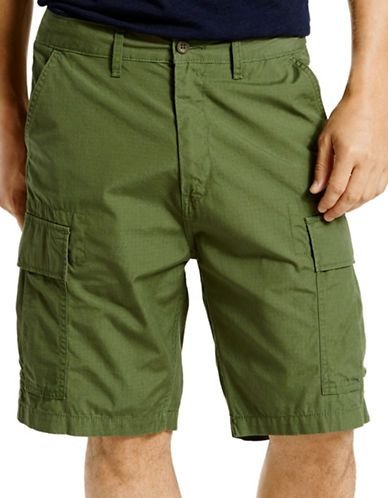 744bf8a5d2 LEVI'S LEVI'S Carrier Cargo Shorts in Meadow Moss. #levis #cloth ...