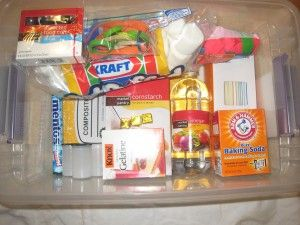 """Awesome blog called the """"Kitchen Pantry Scientist"""", she has tons of great science experiments that kids can do!  Here is a Homemade science lab."""