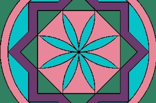 Okul öncesi Mandala Sayılı Boyama örnekleri Ile Mandala Sanatına