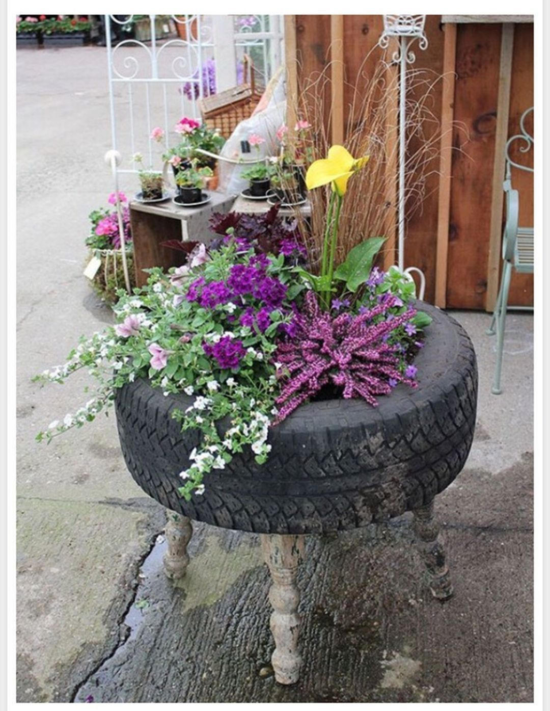 20 Captivating Diy Garden Decorations Ideas With Used