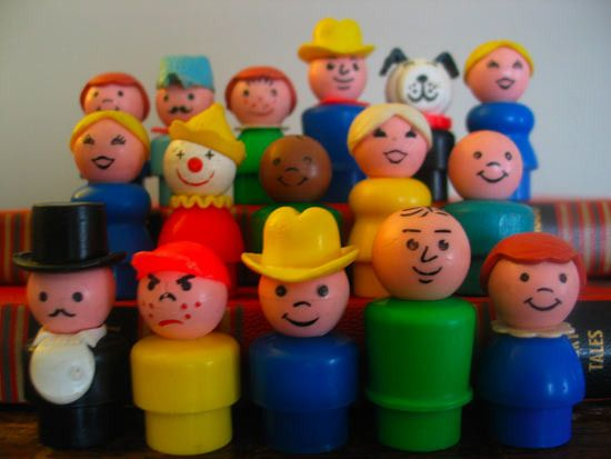 "Fisher Price ""Little People"""