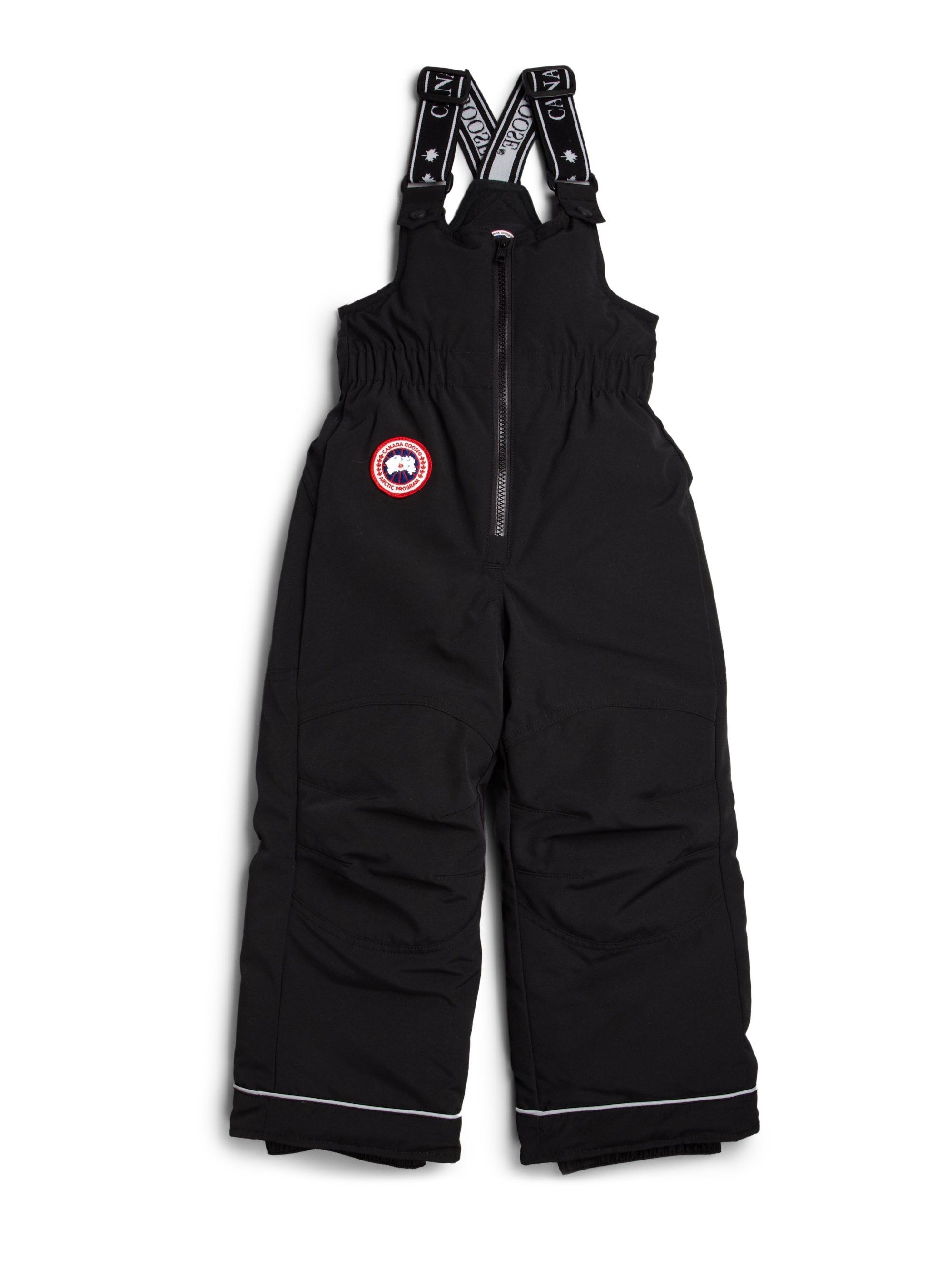 2733ee686 Canada Goose Toddler s   Little Kid s Down Snow Pants - Black 4-5 ...