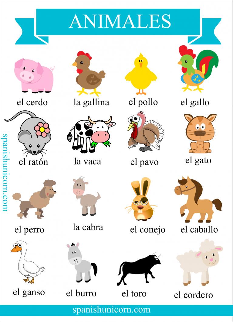Vocabulario de animales domésticos con actividades online