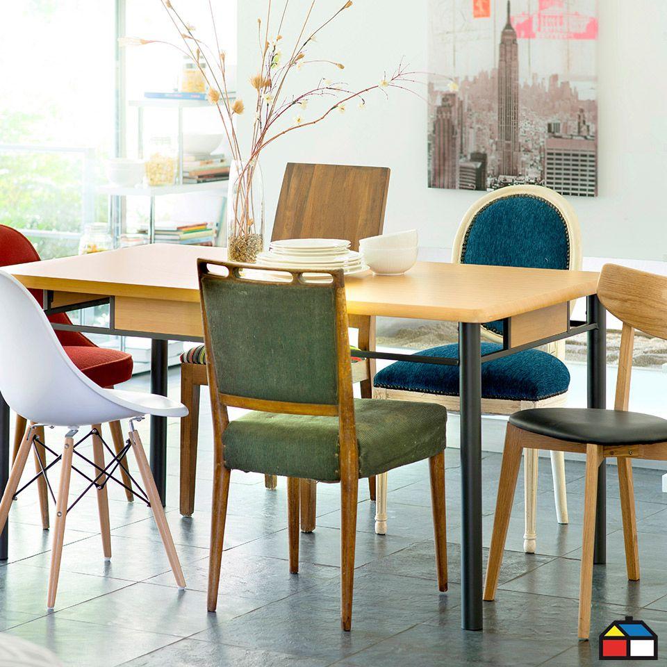 Sillas #colores #Mesa #Comedor   Muebles.   Pinterest   Comedores ...