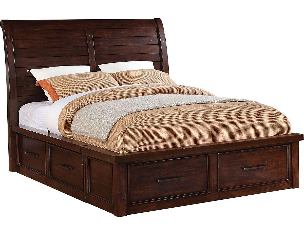 Sonoma King Storage Bed, (SONOMSKBD) The Brick King
