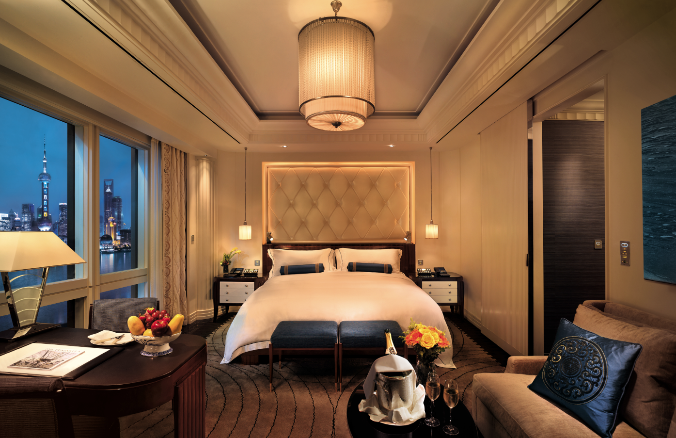 Uncategorized/luxury designer bedding/abernathy -  Tlworldsbest 2013 The Peninsula Shanghai The Gleaming Brass And Mohogany Interiors Of