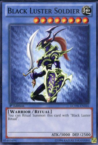 Edition Common YGLD Yu-Gi-Oh! Envoy of the Beginning Unl Black Luster Soldier