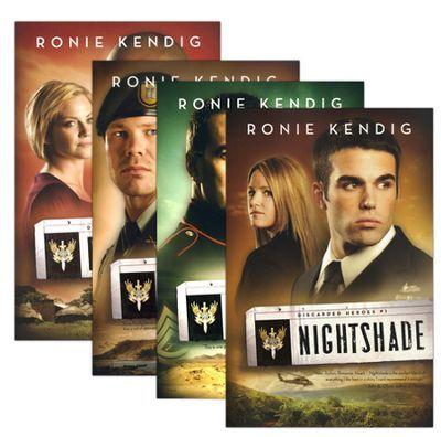 Discarded Heroes Series, Volumes 1-4  -     By: Ronie Kendig