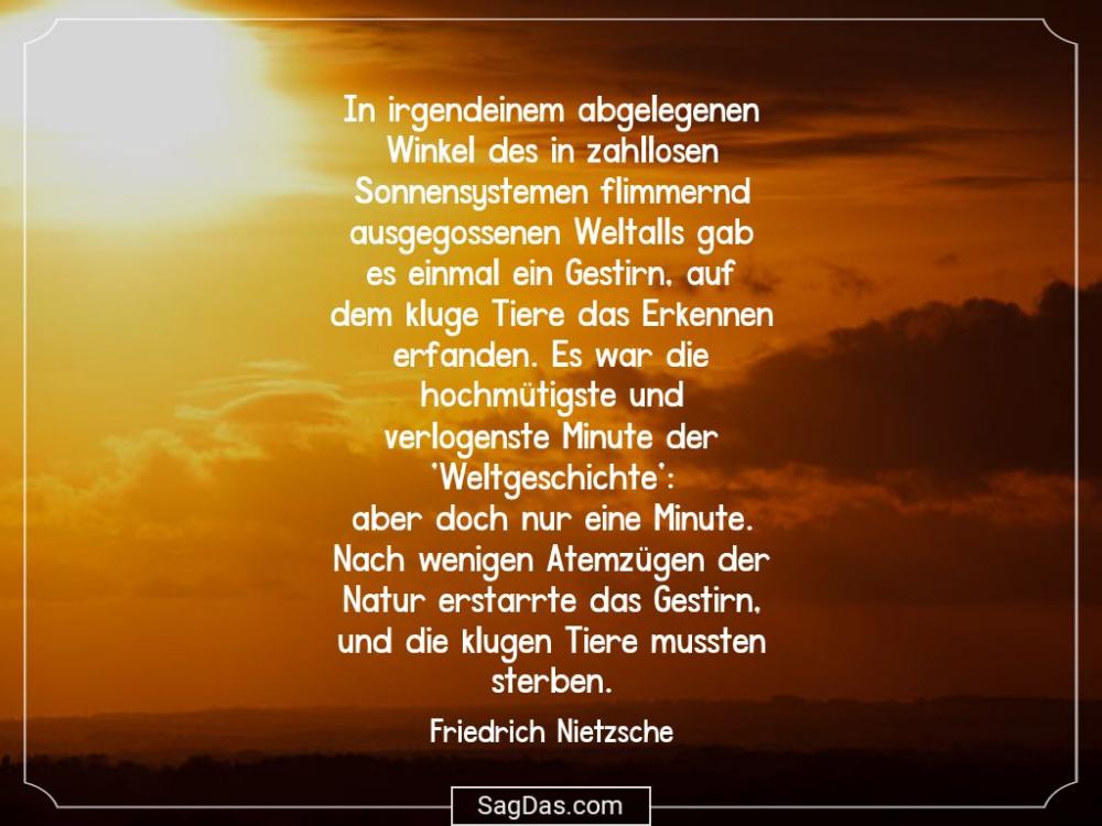 Friedrich Nietzsche Zitat In Irgendeinem Abgelegenen Winston Churchill Zitate Churchill Zitate Zitate
