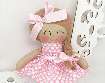 Cloth baby doll Handmade DollsCustom by SewManyPretties on Etsy