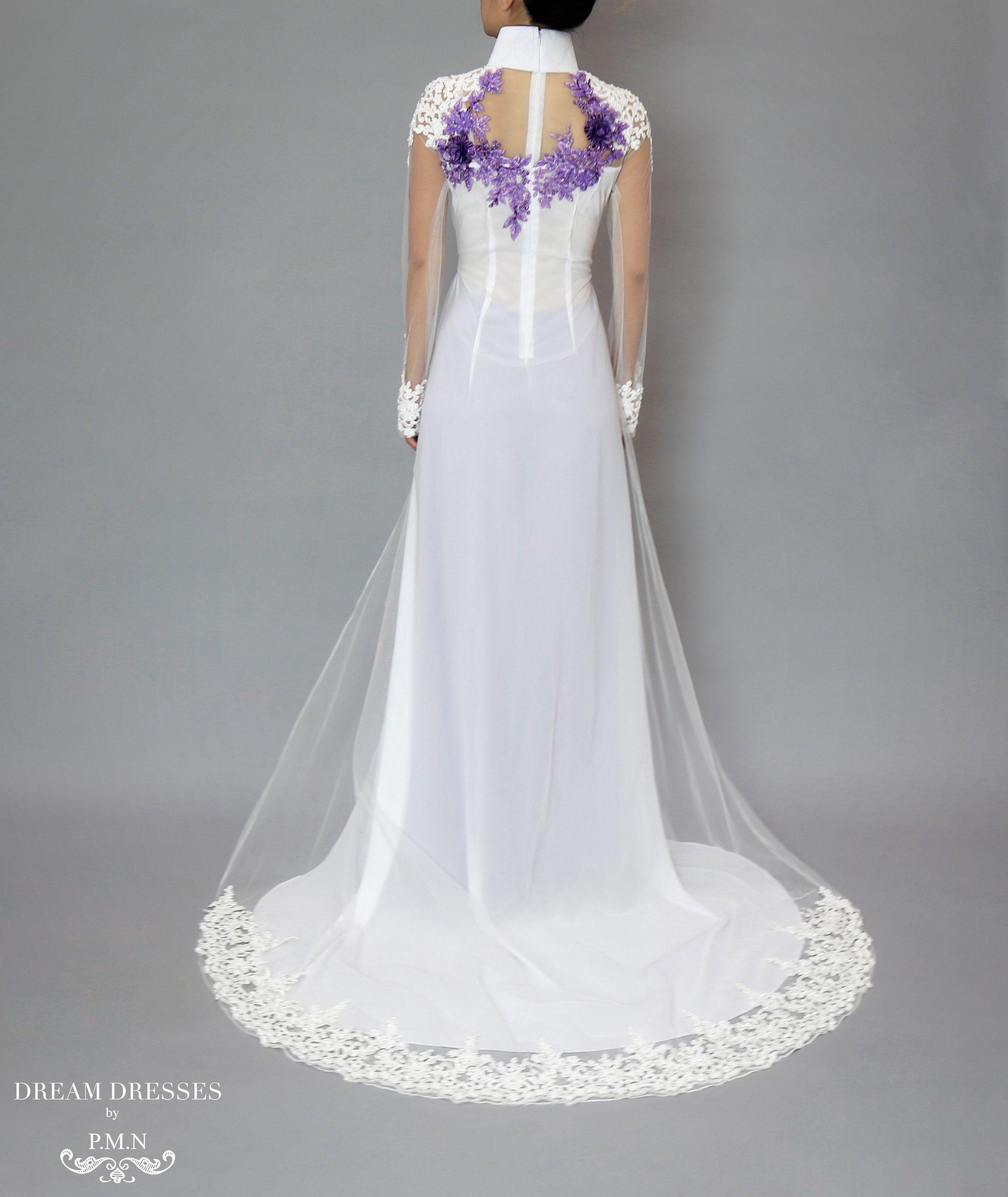 Traditional Wedding Dresses Beaded Lace Dream Dress Custom Made Funny Pics: Funny Purple Wedding Dress At Websimilar.org