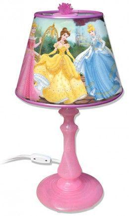 Disney Princess Lamp Kids Rooms Disney Princess Bedroom