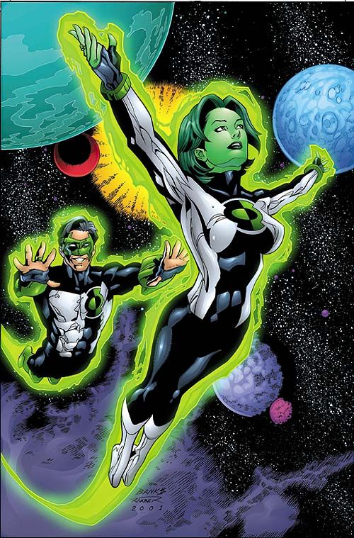 Jade, Green Lantern's daughter
