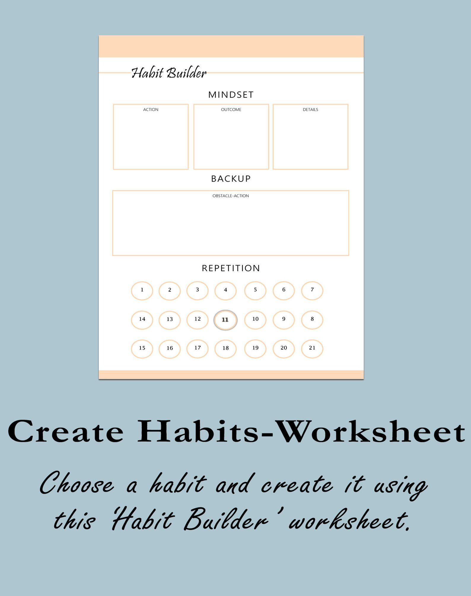 Habit Mastery Kit Habit Tracker And Habit Planner Self