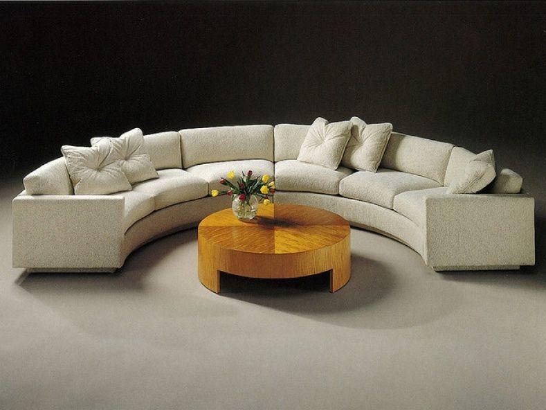 Semi Circular Sectional Sofa