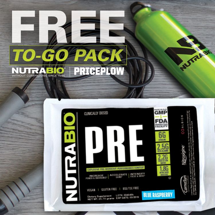 NutraBio PRE Our TopRated Pre Workout Supplement Pre