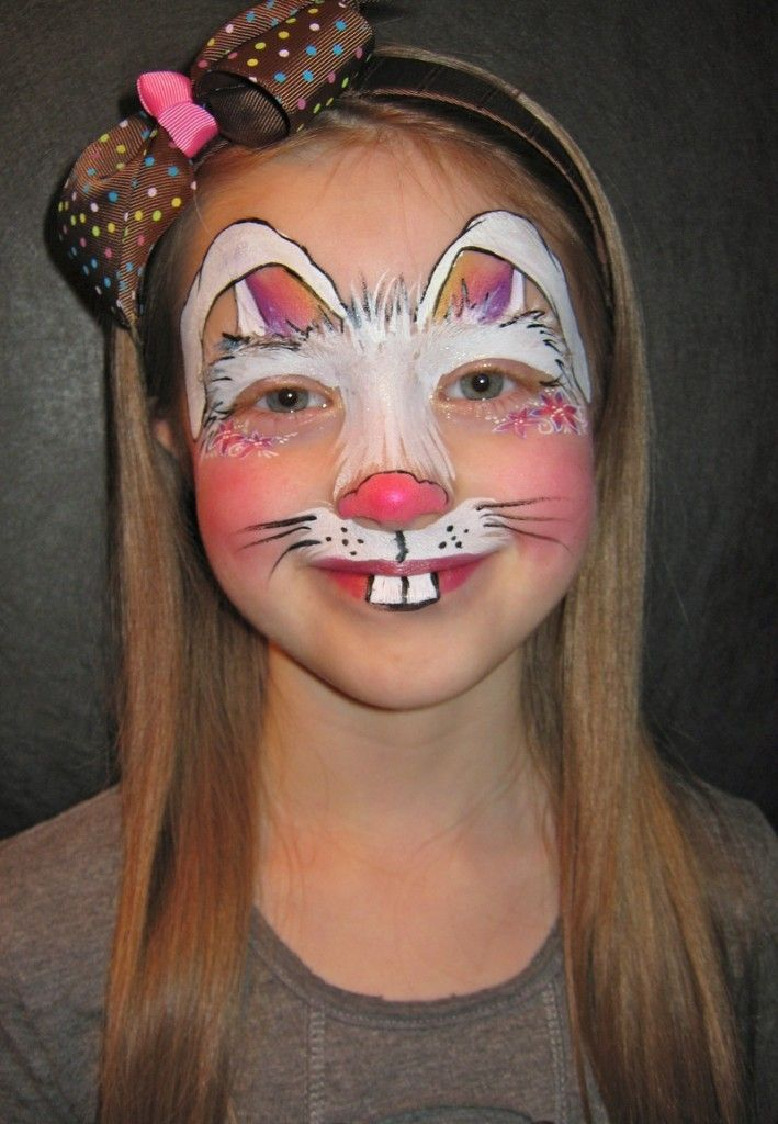 Bunny Halloween Makeup Ideas Karneval Kostume Pinterest