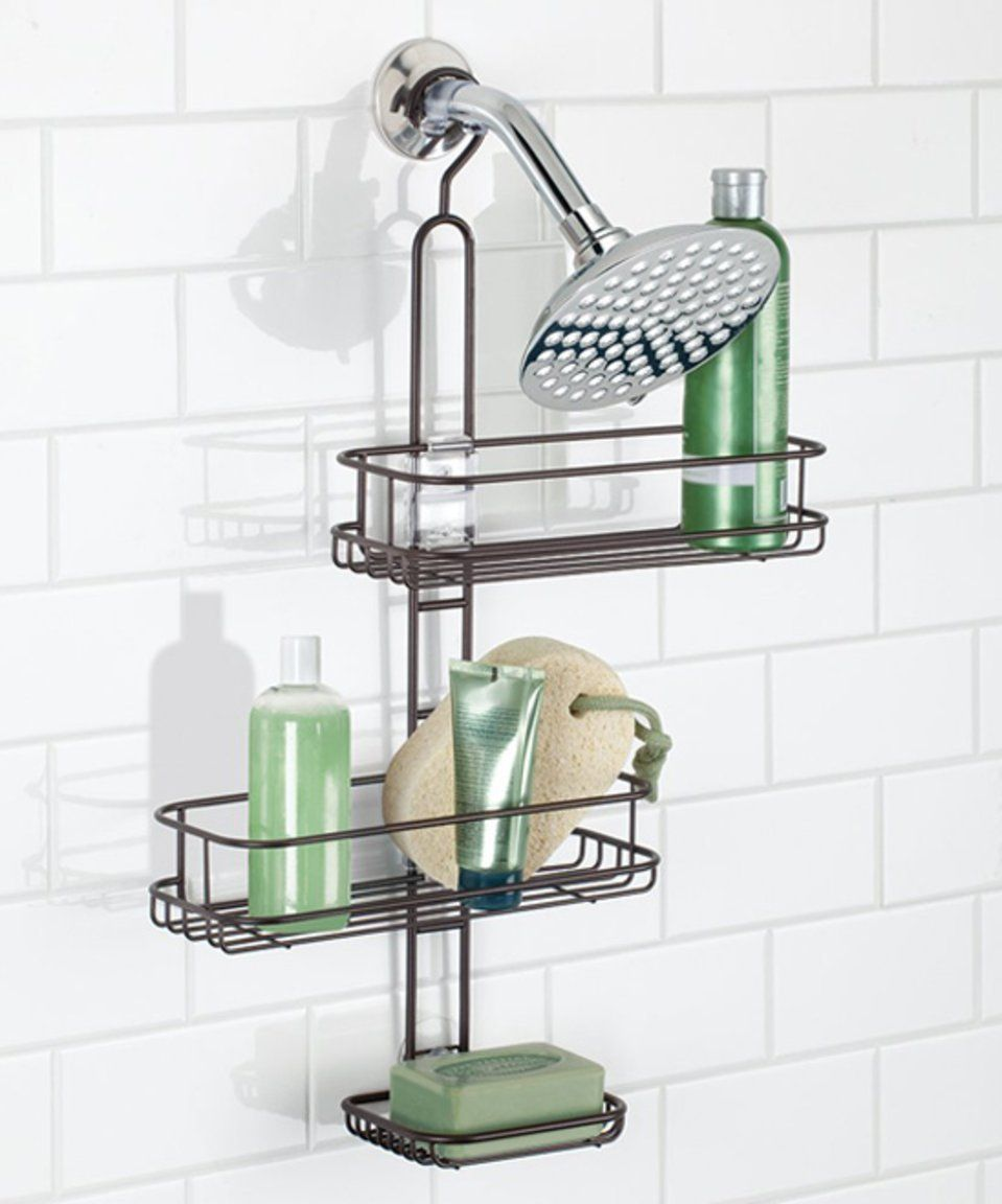 Take a look at this Bronze Linea Adjustable Shower Caddy today ...
