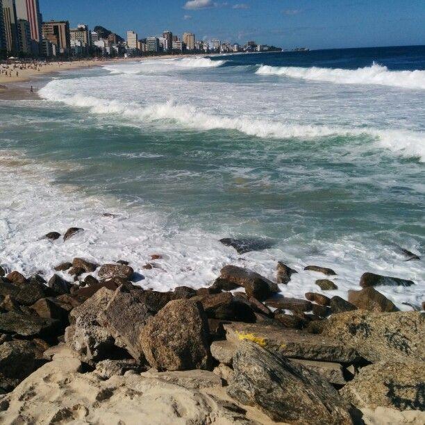 O mar e as pedras