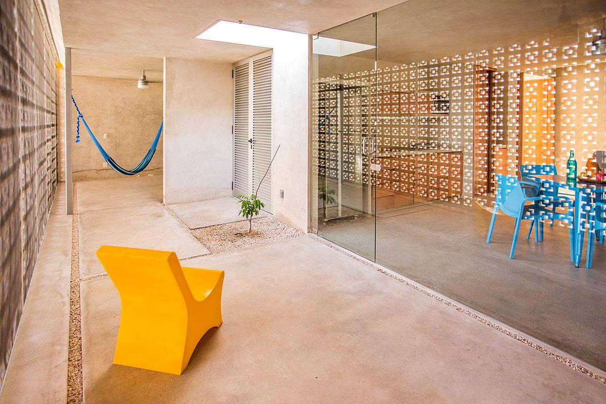 Casa gabriela en m rida kitchen anda living extensi n for Arquitectura de interiores a distancia