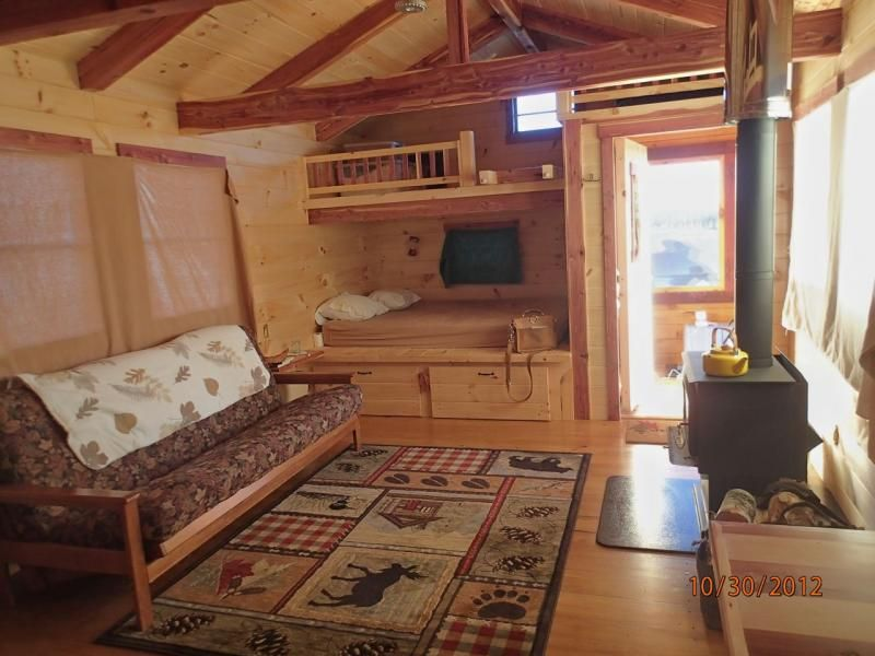 Small Cabin Plans With Loft Beds