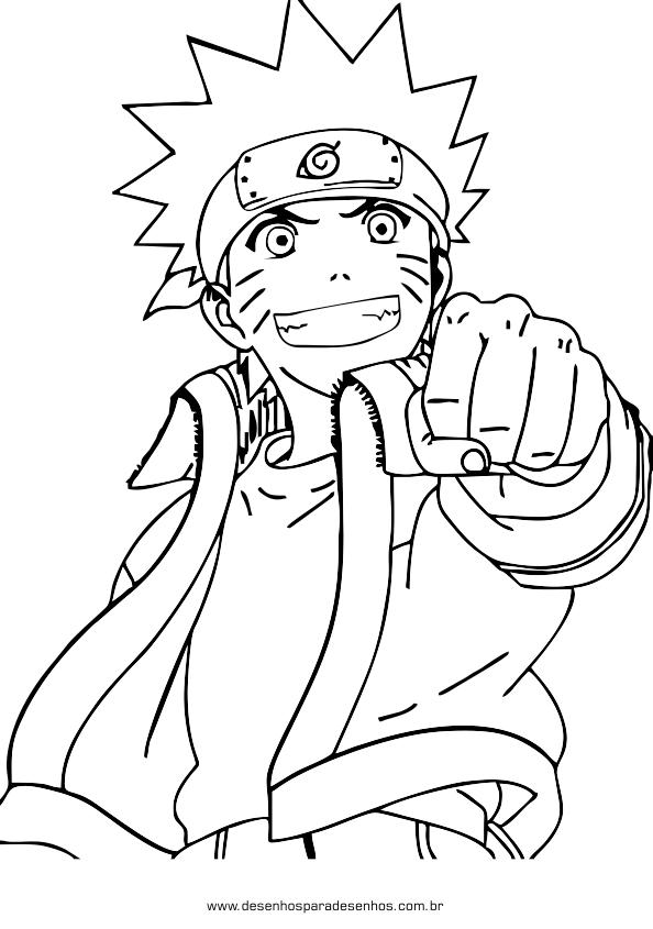 Imagens Imagens Para Desenhar Do Naruto Desenhos Para Colorir