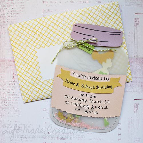 tinkerbell invitation cards for birthdays
