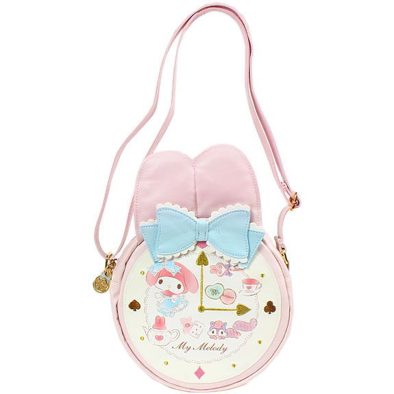 91286106d Details about New Sanrio My Melody Shoulder bag with clasp Sanrio ...
