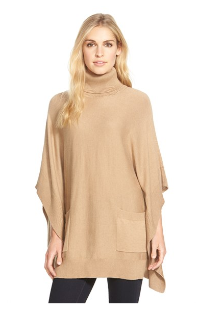 I personally do love ponchos. This poncho from Michael Kors is ...