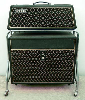 Vox Vintage Amps 1966 Vintage Vox Buckingham Piggyback Amp Model V1121 Vintage Guitar Vintage Guitar Amps Guitar Amp Vintage Guitars