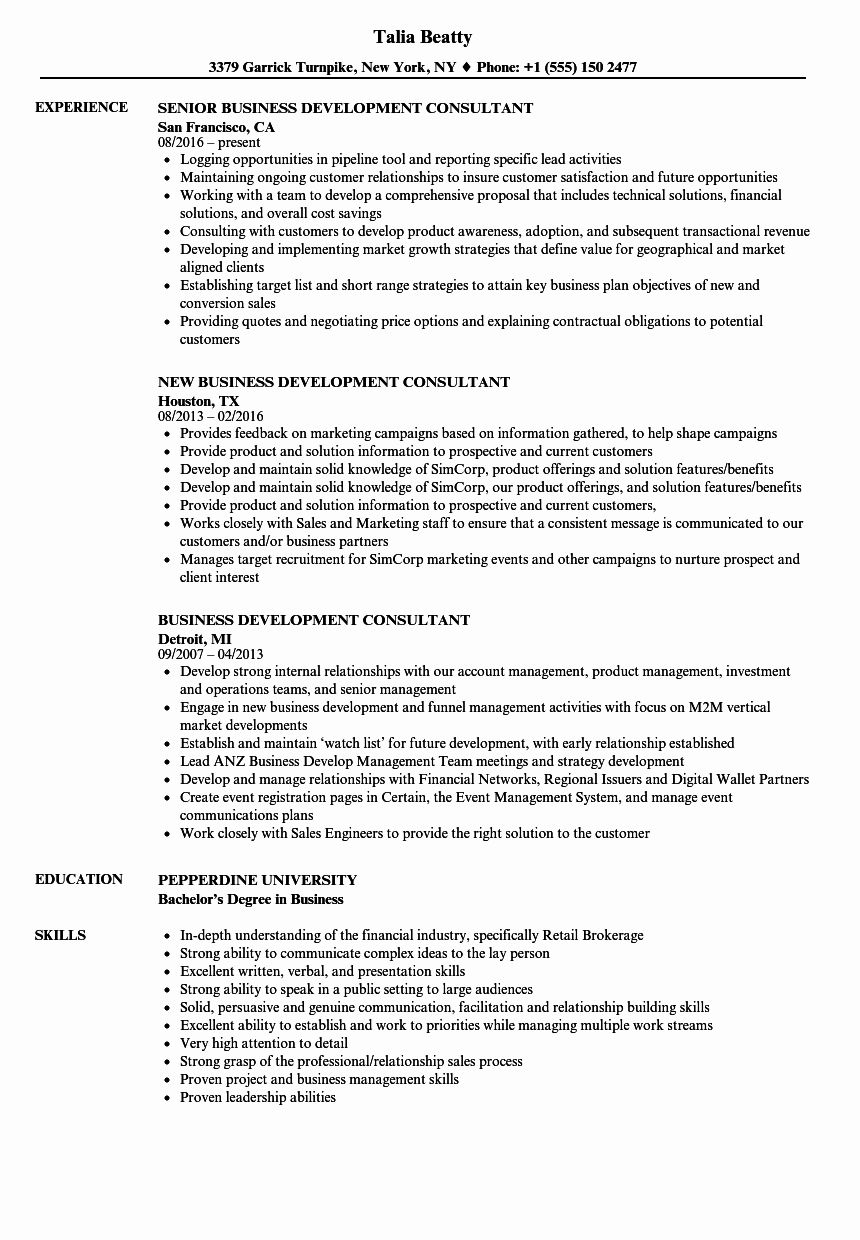 20 Business Development Representative Resume (With images