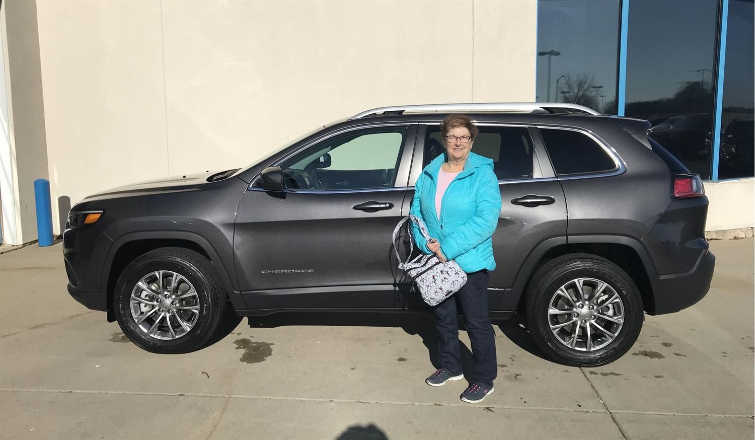 Kristine We Hope That Your New 2020 Jeep Cherokee Takes You On