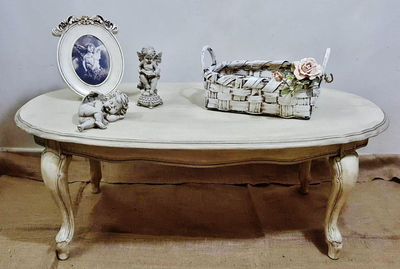 Restyling Tavolino Shabby Chic Vicky Interiors | Shabby Chic Vicky ...