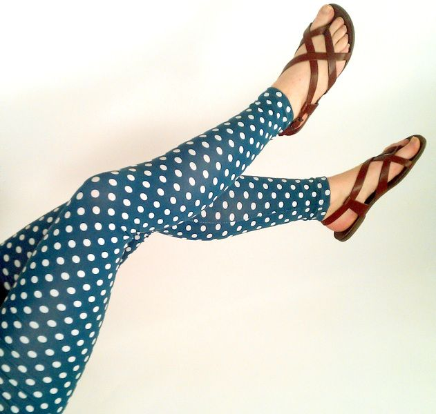 Frija Omina Leggings Dots from Frija Omina by DaWanda.com