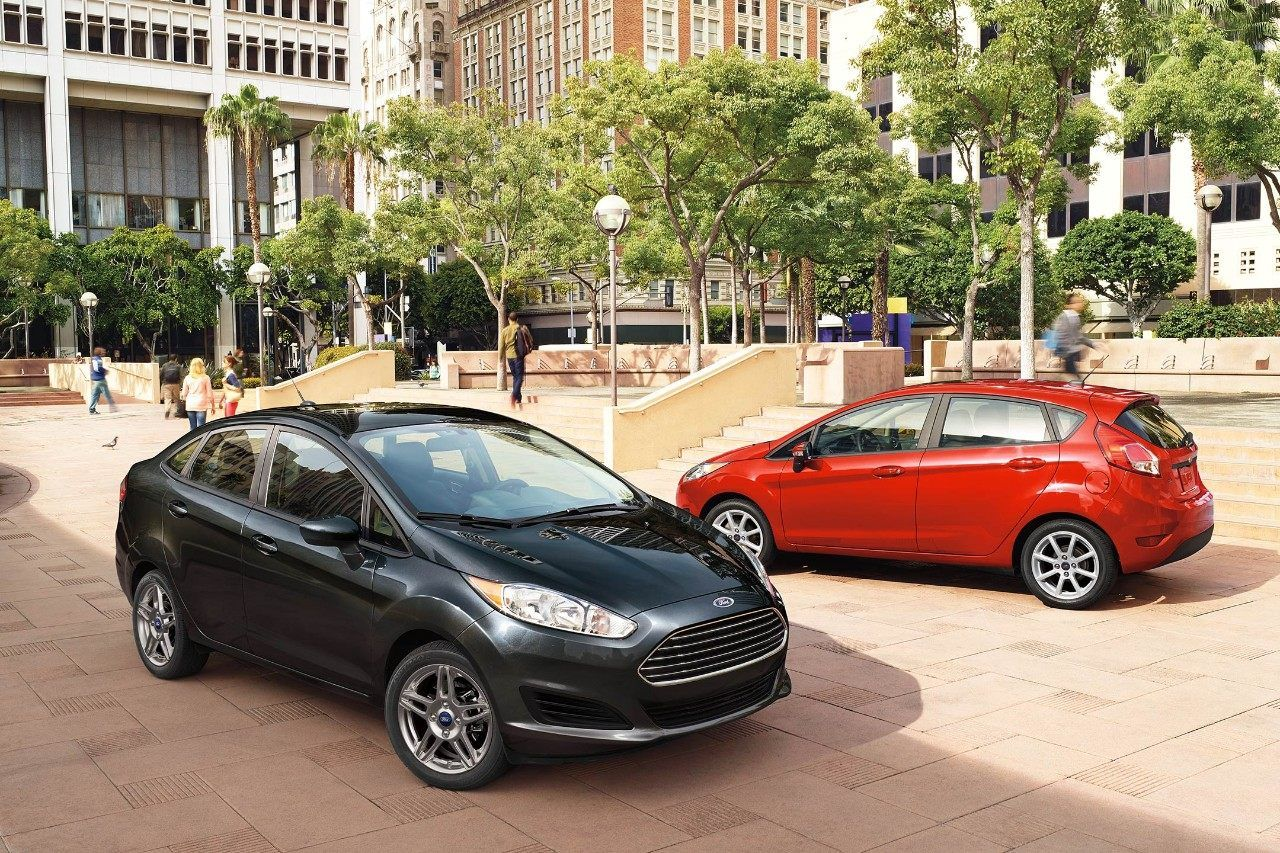 2018 Ford Fiesta S E Sedan In Shadow Black And 2018 Ford Fiesta