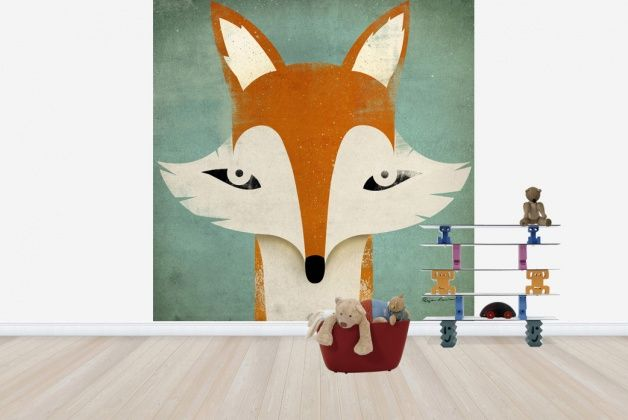Ryan Fowler Fox Wall Mural & Photo Wallpaper