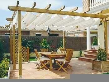 Cenadores y p rgolas para tu jardin o terraza terraza - Decora tu terraza ...
