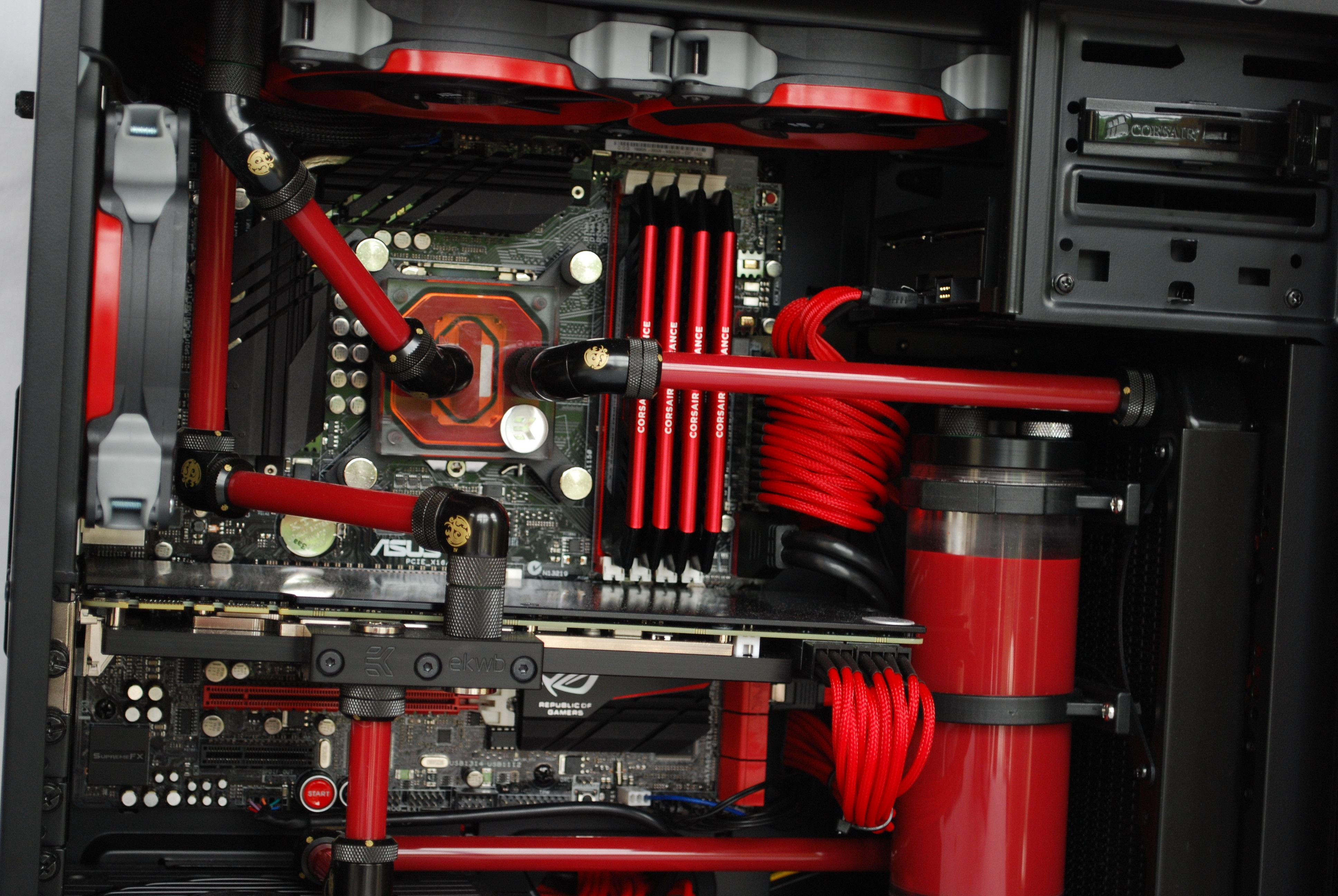 Red Dragon Red Dragon Custom Pc Computer Build