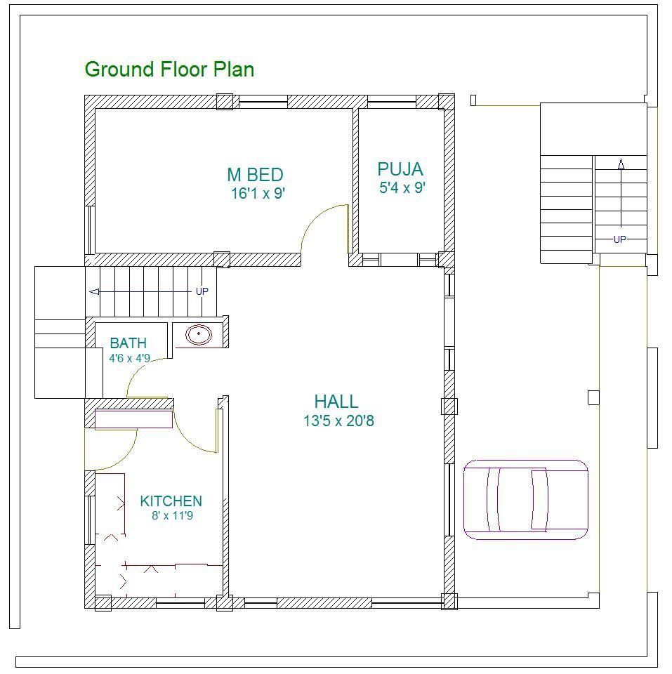 East Facing 2 Bedroom House Plans As Per Vastu By East Facing Bedroom House Plans As Per Vastu House Plans 2 Bedroom House Plans 1 Bedroom House Plans