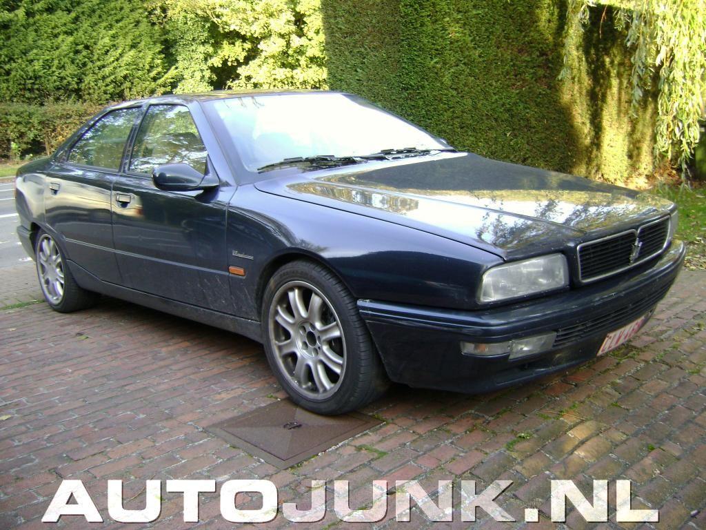Maserati Quattroporte V8 Evoluzione (1998-2001)   Evoluzione