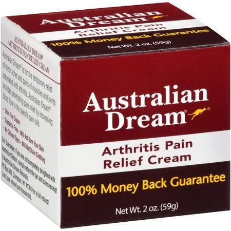 Australian Dream Arthritis Pain Relief Cream, 2 oz