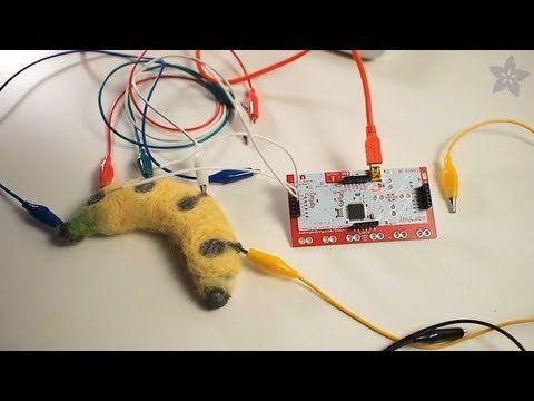 Conductive Felt Keypad for MaKey MaKey #makeymakey