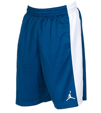 6a0505df3725 JORDAN Basketball shorts Elastic waistband Adjustable drawstring closure  Mesh for breathability JORDAN brand lettering down sides JORDAN jumpman  logos