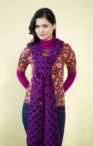Image of Fortuna Scarf   Crochet/Knit/Embroidery   Pinterest ...