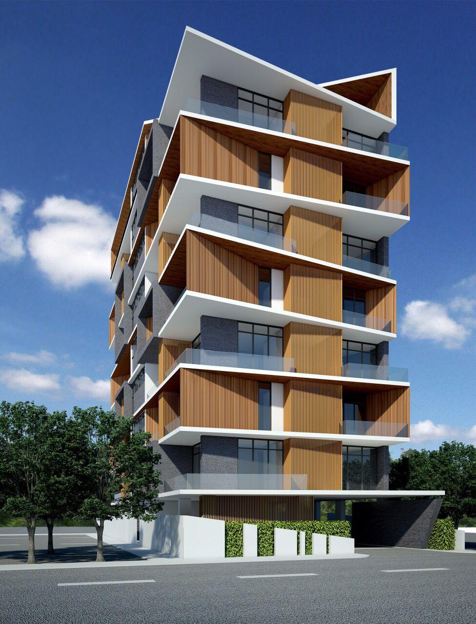 Service apartment sayar san road yangon myanmar by for Apartment building layout